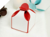 2 Tone Red Favour Box -50pc