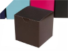 7.62cm Chocolate Brown Cup Cake Box- 25pc