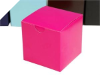 7.62cm Hot Pink Cup Cake Box- 25pc