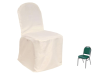 Banquet Chair Covers (Polyester) - IVORY