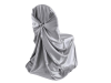 Universal Chair Covers (Satin) - SILVER
