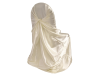 Universal Chair Covers (Satin) - IVORY