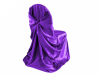 Universal Chair Covers (Satin) - Purple