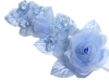Headpiece-Baby Blue-1/pk