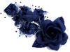 Headpiece-Navy Blue-1/pk