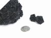 Ribbon Roses-Black.144/pk
