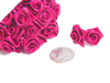 Ribbon Roses-Fuchsia/Hot Pink.144/pk
