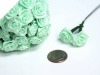 Ribbon Roses-Mint.144/pk