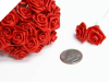 Ribbon Roses-Red.144/pk