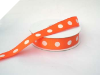2.22cm Polka Dot Ribbon-Orange