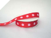 2.22cm Polka Dot Ribbon-Red
