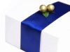 3.81cm Grosgrain Ribbon - Navy