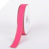 1.58cm Stitched Grosgrain - Fuchsia with Apple