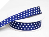 2.22cm Polka Dot Ribbon-Navy