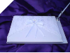 Lace Guest Book & Pen Ivory