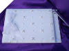 Rhine and Pearl Guest Book with Pen - White