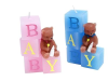 Baby Block Candle - Blue