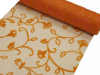Organza Embroidery Roll 30.48cm x 9.14m - Orange