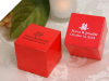 Personalized Red Box - 100 Count