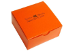 Personalized Cake Box - Orange - 100 pcs