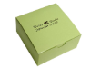 Personalized Cake Box - Sage Green - 100 pcs