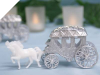 Cinderella Carriage-Silver-1/pk