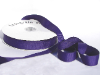 2.22cm x 45.72metres Grosgrain - Deep Purple