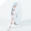 Cup Cake Grosgrain Ribbon - White