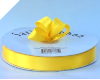 2.22cm Satin Ribbon - Yellow (Bright)