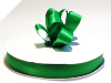 2.22 cm Satin Ribbon-Emerald Green