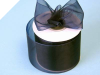 6.98cm Organza Ribbon-Navy Blue