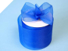 6.98cm Organza Ribbon-Royal Blue