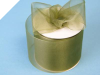 6.98cm Organza Ribbon-Willow