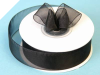 2.22 cm Organza Ribbon-Black