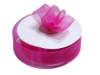 2.22 cm Organza Ribbon-Fuchsia/Hot Pink
