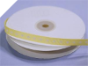 0.95cm x 45.72metres Grosgrain Polka Dot-Bright Yellow