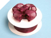 2.22cm Wired Satin Edged Organza-Burgundy