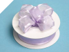 2.22cm Wired Satin Edged Organza-Lavender
