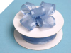 2.22cm Wired Satin Edged Organza-Periwinkle
