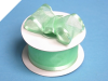 3.81cm Wired Satin Edged Organza - Mint