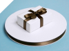 0.95 cm Satin Ribbon-Chocolate