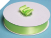 2.22 cm Satin Ribbon-Apple Green