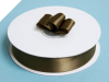 2.22 cm Satin Ribbon-Chocolate