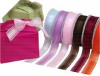 Organza Satin Striped Ribbon