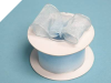 3.81cm Wired Organza-Blue
