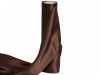Satin Fabric 137cm x 9.14m - Chocolate