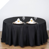 274.32cm Round Tablecloth - Black