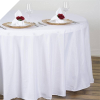 274.32cm Round Tablecloth - White