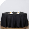 304.80cm Round Tablecloth - Black