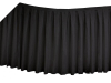 Linen Table Skirt - Black (3 sizes)